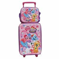 Tas Anak Sekolah Baru -Koper Set Little Pony dan Lunch Bag Anak Bahan