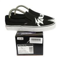 Sepatu Slip On Vans Metallica Black White Perfect Kick BNIB