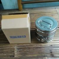 tromol kasa dressing drum stainles 15 cm