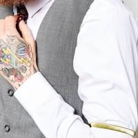 Sleeve Garter / Armband Bartender / Barista (penahan lengan baju)