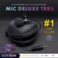 Microphone Mic Clip On DELUXE 3.5 mm TRRS For Android