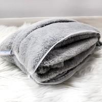 [PP] Magic Cushion / Travel Blanket ( grey )