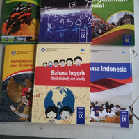 Buku Paket SMP Kelas 9 . Bhs Indo .IPA .MTK .IPS .PKN .Bhs Inggris
