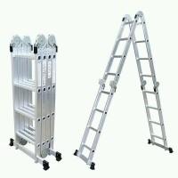 KRISBOW 4.4M tangga lipat multifungsi tangga serbaguna