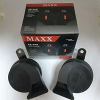 Klakson Mobil Keong Maxx Black Twin Tone Datsun Go