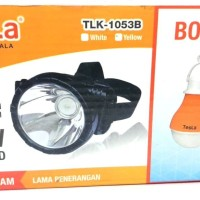 Senter Kepala Led Super Bright Tesla TLK1053B 10W Termurah