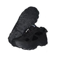Sepatu Elite 4 inch Kets Boots Hitam Tactical Safety Army