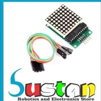 MAX7219 LED Dot Matrix 8x8 Display Module MAX 7219 DIP 8*8 for arduino