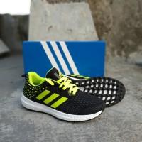 sepatu adidas nero running black stabilo premium quality