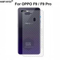 SKIN CARBON OPPO F9 BACK CASE NON TEMPERED GLASS OPPO F9 PRO