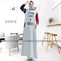Dijual Baju Muslim Gamus Think Maxi Dress Diskon