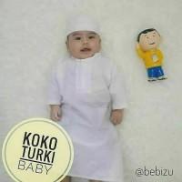 jubah koko bayi dan anak. baju muslim gamis koko bayi laki.