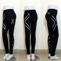 2xu Women Joggers Compression Fitness Tight Running Clothes Breathable