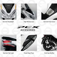 (PCX 150 Lokal) Honda ORI Paket Aksesoris Premium KOMPLIT - 6 Item