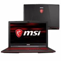 Laptop MSI Gaming GL63-8RC Black