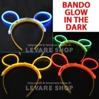 Bando Glow in the Dark - Glow Stick Headband - Stik Fosfor Nyala