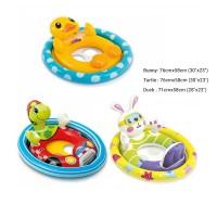 Pelampung Floaties Baby See Me Sit Pool Riders - INTEX 59570 - Bunny