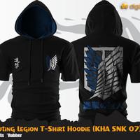 Kaos Anime SNK Scouting Legion T-Shirt Hoodie KHA SNK 07
