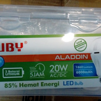 Lampu LED Luby emergency 20W 20Watt