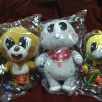 Boneka Maskot Asian Games 2018 ( Bhin bhin, Athung dan Kaka)