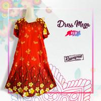 baju daster motif mega rumput warna red adem grosir dan ecer