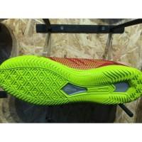 Sepatu Futsal Specs Original Apache In Dark Red Solar Slime Best Sel