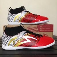 Sepatu Futsal Specs Heritage IN Emperor Red White 400749 Original BN