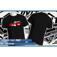 Kaos /T-shirt Motor New Satria Fu Logo 2017
