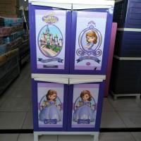 lemari plastik napolly tipe 242 sofia