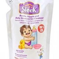 Sleek Bottle Nipple & Baby Accessories Cleanser Refill 450ml