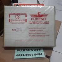 Stiker label nama / label stiker / label harga phoenix no 112