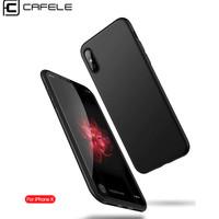 CAFELE Tpu Jelly Case - iPhone Xs Max iPhone Xs iPhone Xr iPhone X