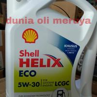 Oli shell helix eco 5w-30 3,5liter