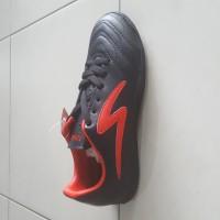 ORI sepatu futsal specs ricco hitam 100%