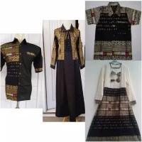 Batik Baju Pesta JUMBO Couple Family Gamis+Kemeja Sarimbit SGC