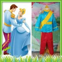 Kostum Baju Disney Prince Charming Pangeran Cinderella 2 - 12 Tahun