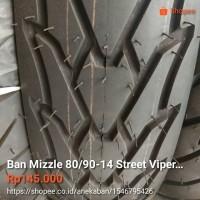 Ban Mizzle 80/90-14 Street Viper Tubeles (Ban matic depan / belakang)