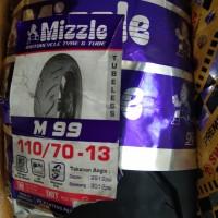 Ban Mizzle 110/70-13 M99 ban depan motor Nmax Tubeles Ring 13