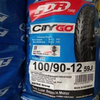 Ban FDR 100/90-12 City Go untum New Scoopy Velg Ring12 Tubeles