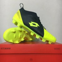 New Sepatu Bola Lotto Energia FG Safety Yellow L01010008 Original BNIB