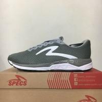 New Sepatu Running/Lari Specs Dual Enduro Palona Grey 200549 Original