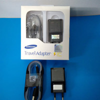 FAST CHARGING 2A SAMSUNG ORIGINAL GALAXY CHARGER NOTE 4 5 S6 7 BLACK