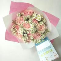 buket bunga wisuda | bunga mawar asli | bucket | hand bouquet | floris