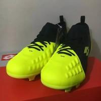 Baru Sepatu Bola Lotto Energia FG Safety Yellow L01010008 Original