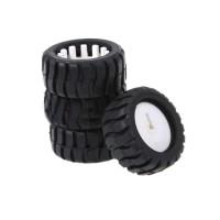 MiniQ Smart Car Wheel Tyre Roda Karet Ban Robot for Motor Gearbox N20