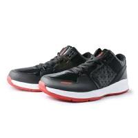 Sepatu basket ardiles pride dbl original no kw hitam merah