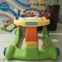 BabyWalker BabyElle 2in1/Baby Walker baby Elle/Alat Jalan Anak bayi