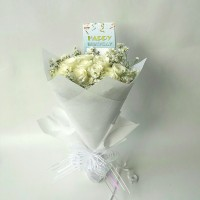 Hand bouquet | florist | buket bunga | wisuda | bunga mawar asli