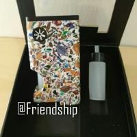 Asmodus x Ultroner Luna Squonker Box Mod Authentic - PUTIH