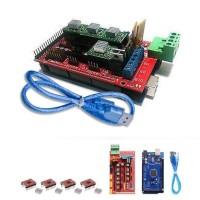 3D Printer Kit: Arduino Mega 2560 R3 Board, Ramps 1.4, 4x A4988